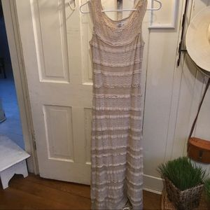 Max Studio Dress-M Long cream Nordys